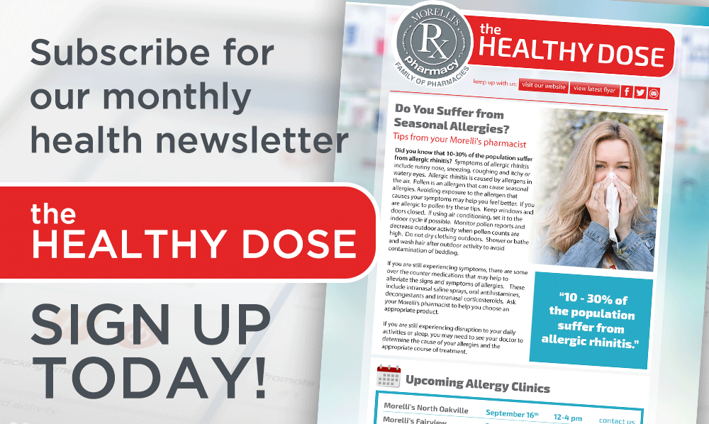The Healthy Dose - Sign Up Today