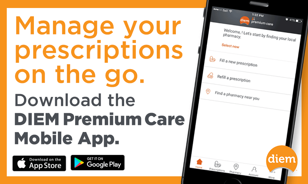 Manage your prescriptions on the go - Download the app