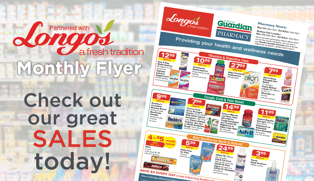 Longo's monthly flyer